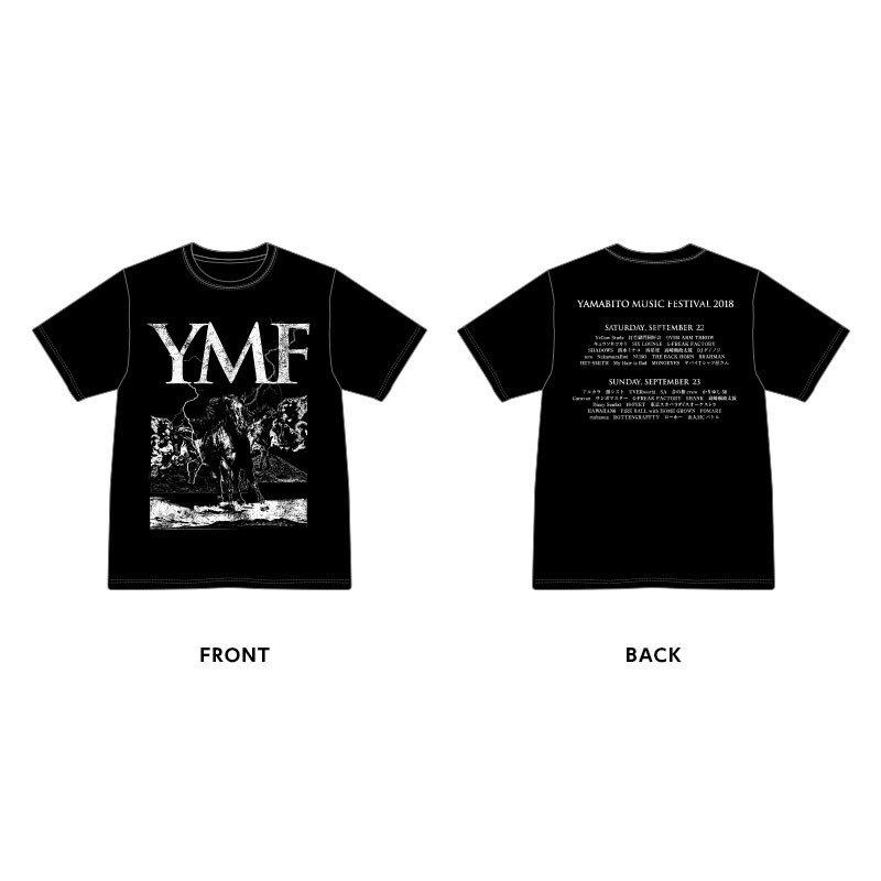YMF Tee Shirt(黒)