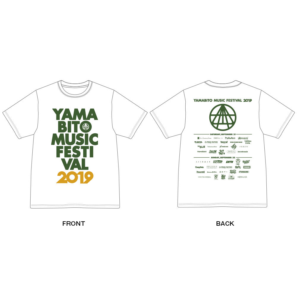 OFFICIAL LOGO Tee Shirt(白)
