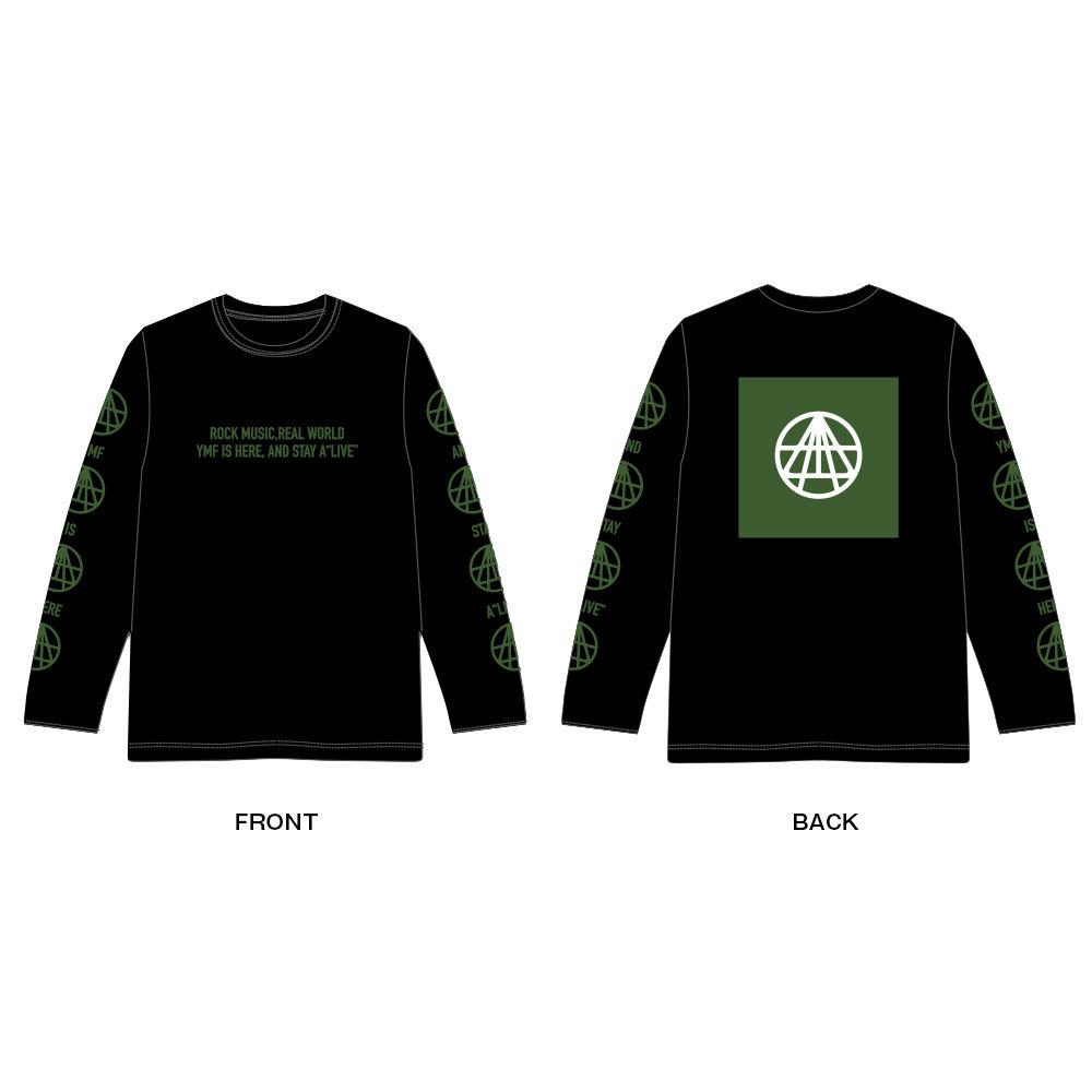 OFFICIAL LONG Tee Shirt(黒)