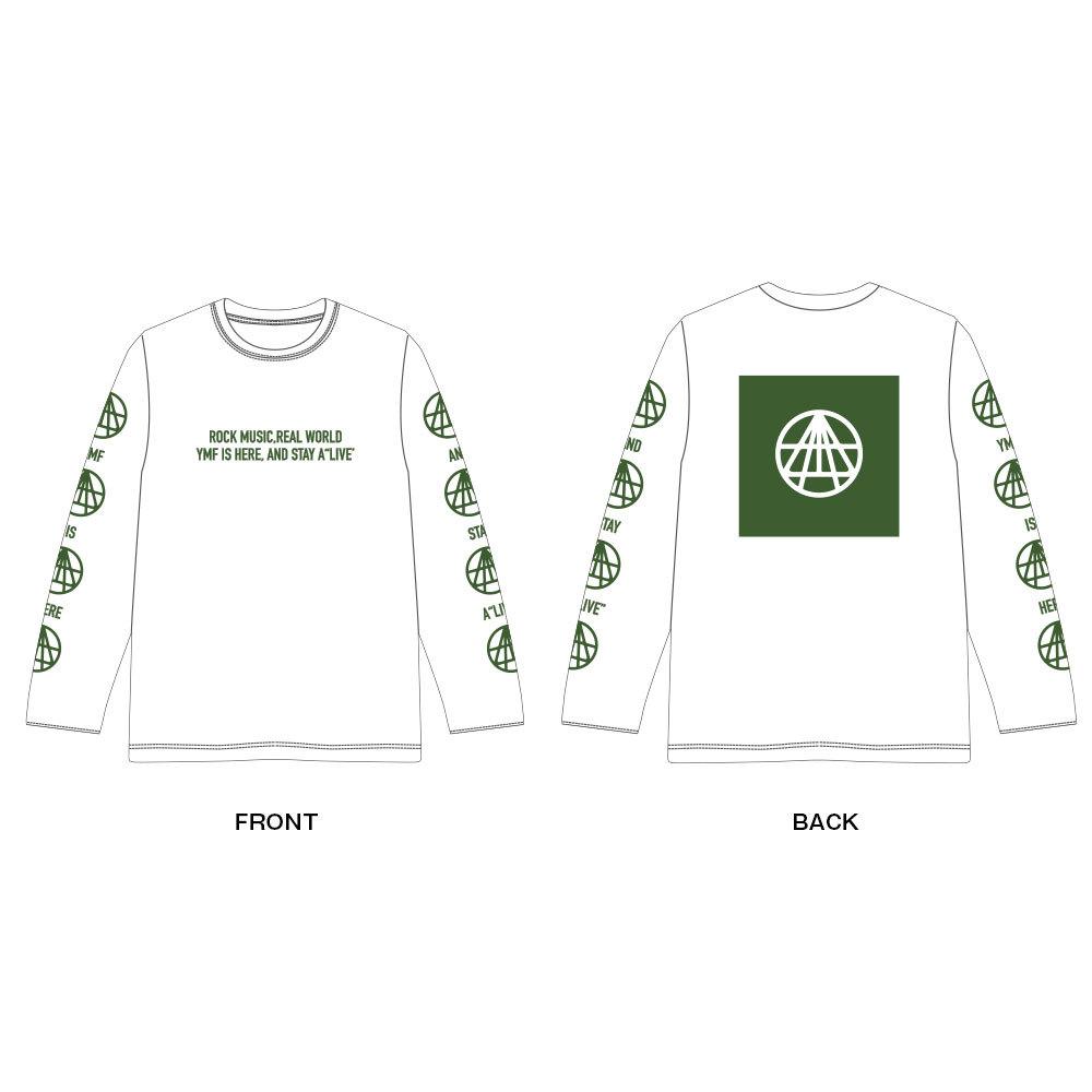OFFICIAL LONG Tee Shirt(白)
