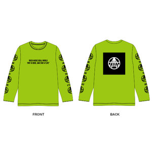 OFFICIAL LONG Tee Shirt(ライムグリーン)