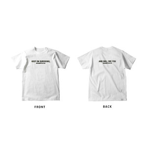 山人サバイブTシャツ(白)